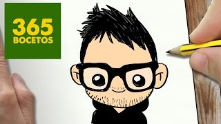 COMO DIBUJAR MANGEL  KAWAII PASO A PASO - Dibujos kawaii faciles - How to draw a MANGEL