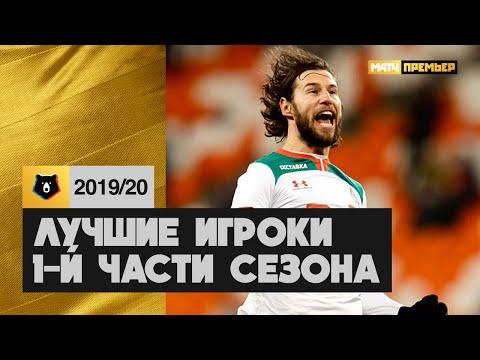 Лучшие игроки первой части сезона РПЛ 2019/2020