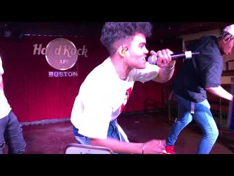 Open Arms - PRETTYMUCH EVERYWHERE TOUR @ Boston (Cavern Club/Hard Rock)