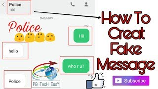 || How to create Fake message in your message app......|| || fun with your friend||😉😉😉😋😋😂😂