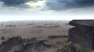 The German Side, D-Day Landing Defense - Normandy 1944 | Men of War: Assault Squad 2 Gameplay