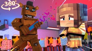 What Is Freddys Surprise - 360° Five Nights At Freddyand39s Vision - Minecraft 360° Vr Video