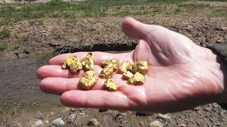 A Very Large Amount of GOLD Near the River