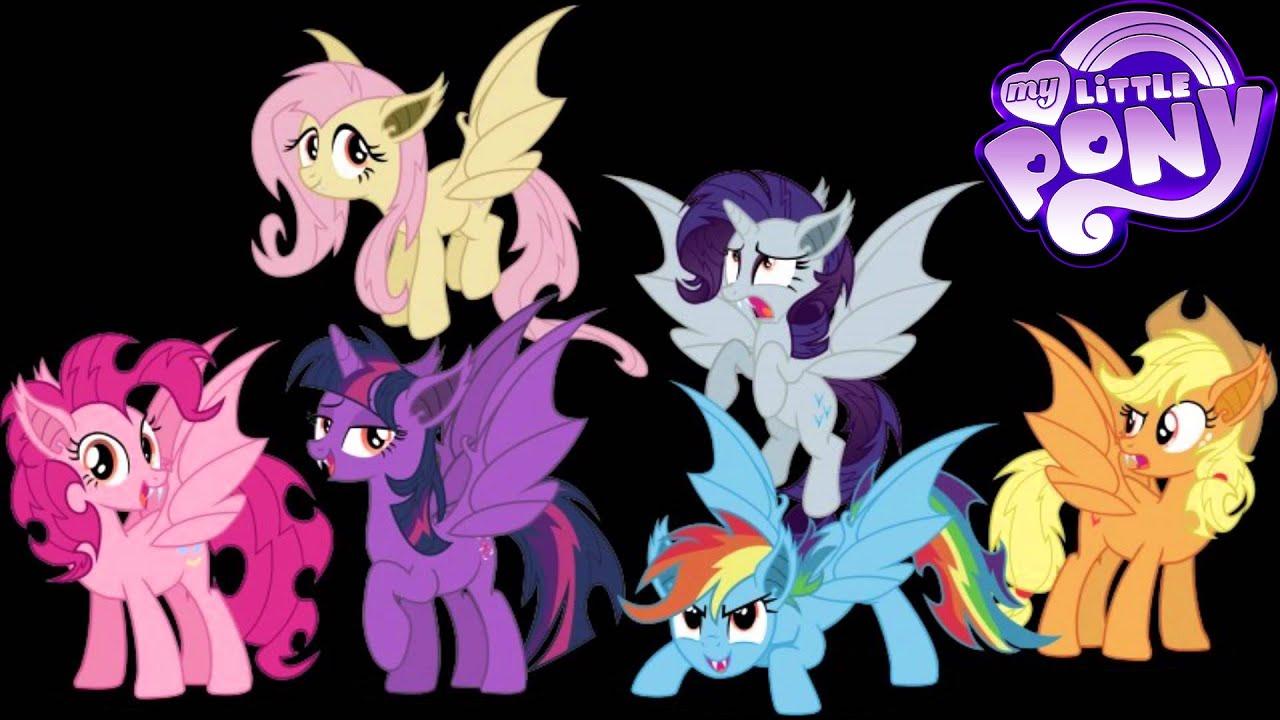 Group Of Vampire Bat Pony Animation