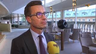 Ulf Kristersson om bråker med Magdalena Andersson