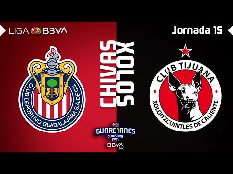 Guadalajara Chivas Club Tijuana Goals And Highlights