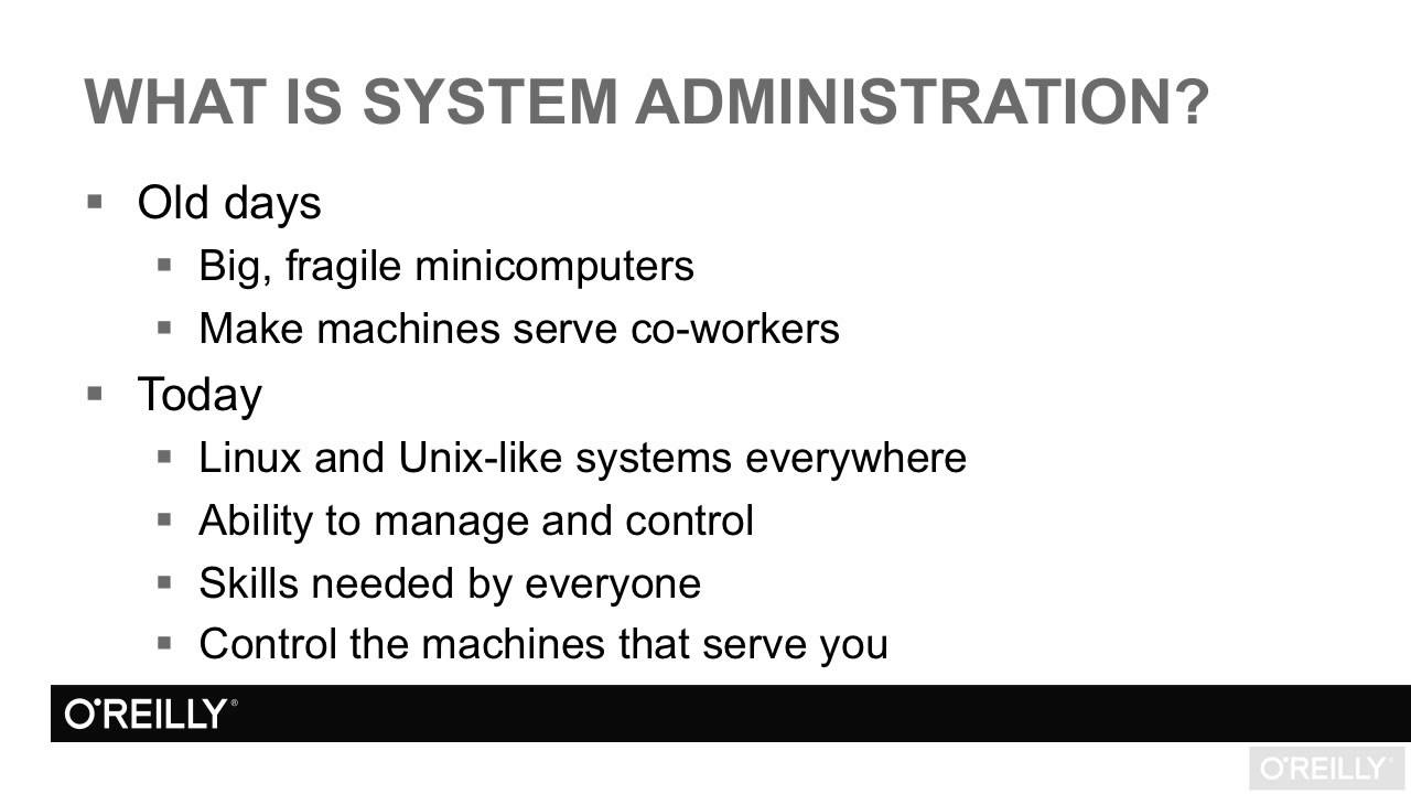 Linux system administration tutorial what is system linux system administration tutorial what is system administration baditri Images
