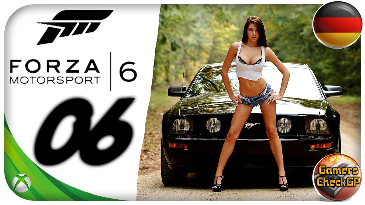 Forza Mustang Modern Muscle Car Rennen Let S Play Forza