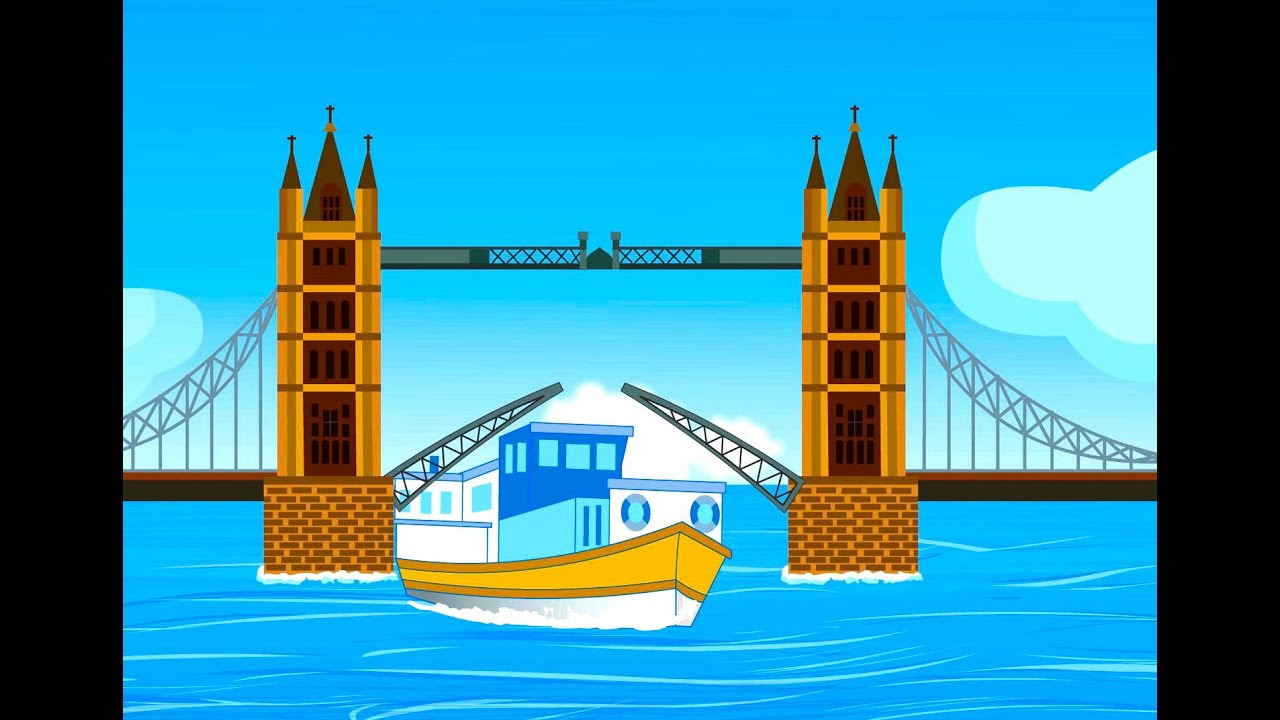 london bridge is falling down nursery rhyme with lyrics