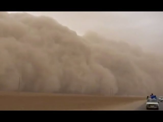 Sandstorm, Cosmic Ray Brain Impact, Record Cold Coming | S0 News Oct.15.2018