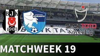 Besiktas vs BB Erzurumspor - 2018-19 Süper Lig -  PES 2019