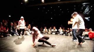 FLOW MO (Bgirl A.T & Ramona) vs FLOOR GANGZ (Knuckle/FEEZ) CPZ SWEDEN 2009