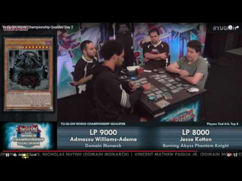 Yu-Gi-Oh! 2016 North American WCQ - Quarter Finals - PK Fire vs Domain Monarchs