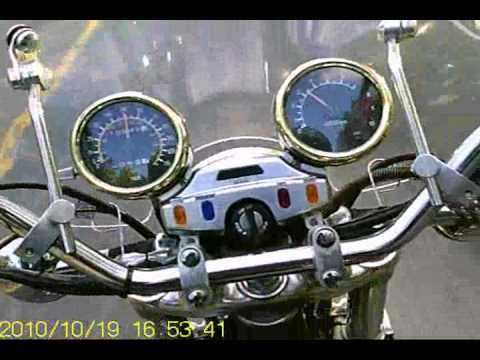 1985 YAMAHA XV1000 Virago Gold Test Ride.wmv