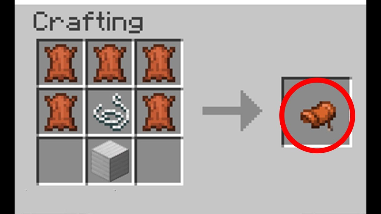 50 NEW Minecraft 1.15 Crafting Recipes