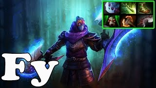 Dota 2 - Fy Plays Anti-Mage - Pub Match Gameplay