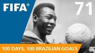 100 Great Brazilian Goals: #71 Pele (Sweden 1958)