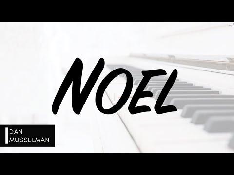 NOEL by Hillsong Worship. Piano Instrumental [with lyrics]