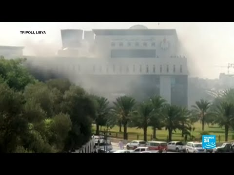 Libya violence: two dead in attack on oil company offices
