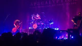 Apocalyptica - For Whom the Bell Tolls. Teatro Metropolitan, Mexico 2017
