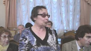 Выступление Э.Б. Рассиной на Попечительском совете