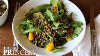 My Favorite Lentil Recipe: French Green Lentils With Orange  |  Fresh P