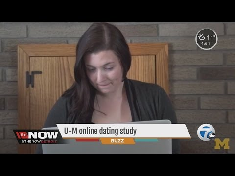 University of Michigan online dating study