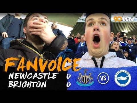 Newcastle and Brighton draw at St James' Park! | Newcaslte 0-0 Brighton | 90min FanVoice