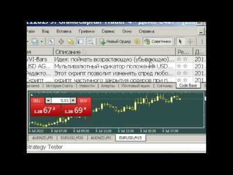 MetaTrader 4 - новые функции. МетаТрейдер 4 - функция торговля в один клик!