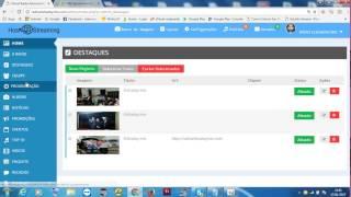 administrando o painel do site administravel  da  ciadaradio.com.br