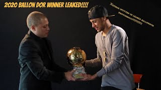 Neymar Ballon Dor 2020 Is this the reason