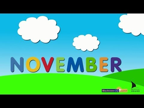 Blacktown City Libraries, Baby Rhyme Time online video - November