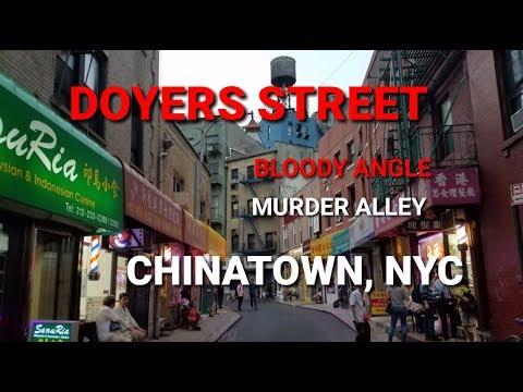 Doyers Street ( Murder Alley) - Chinatown, Manhattan | NYC