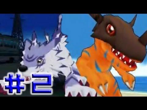 [PSP] Digimon Adventure Walkthrough Part 2 - (Boss Shellmon - Boss Seadramon)