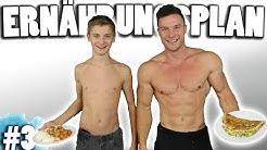 Die Ernährung für den schnellsten Muskelaufbau | Die Transformation meines Bruders - Episode #3