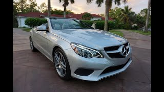 Here's why I Like to Buy Used Cars From Germans - 2014 Mercedes-Benz E 350 Convertible Full Review