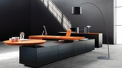 Modern Office Desk with Storage Furniture Designs