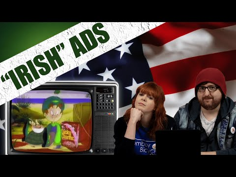 "Irish People Watch Cheesy ""Irish"" Commercials"