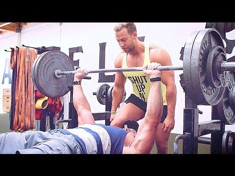 Bench Press Challenge - Bradley Martyn VS Patrick Reiser