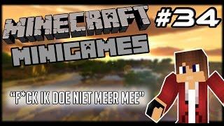 Minecraft Minigames #34 - F*CK IK DOE NIET MEER MEE!?