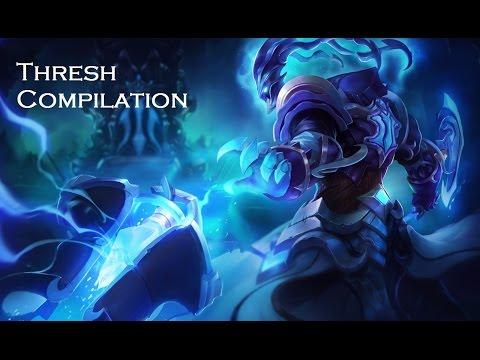 League of Legends l Thresh Compilation
