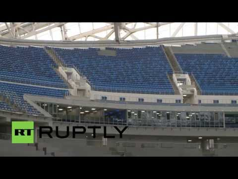 Russia: Sochi's Fisht Olympic Stadium prepares for 2018 World Cup