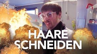 Haare schneiden - Heimwerkerking Fynn Kliemann