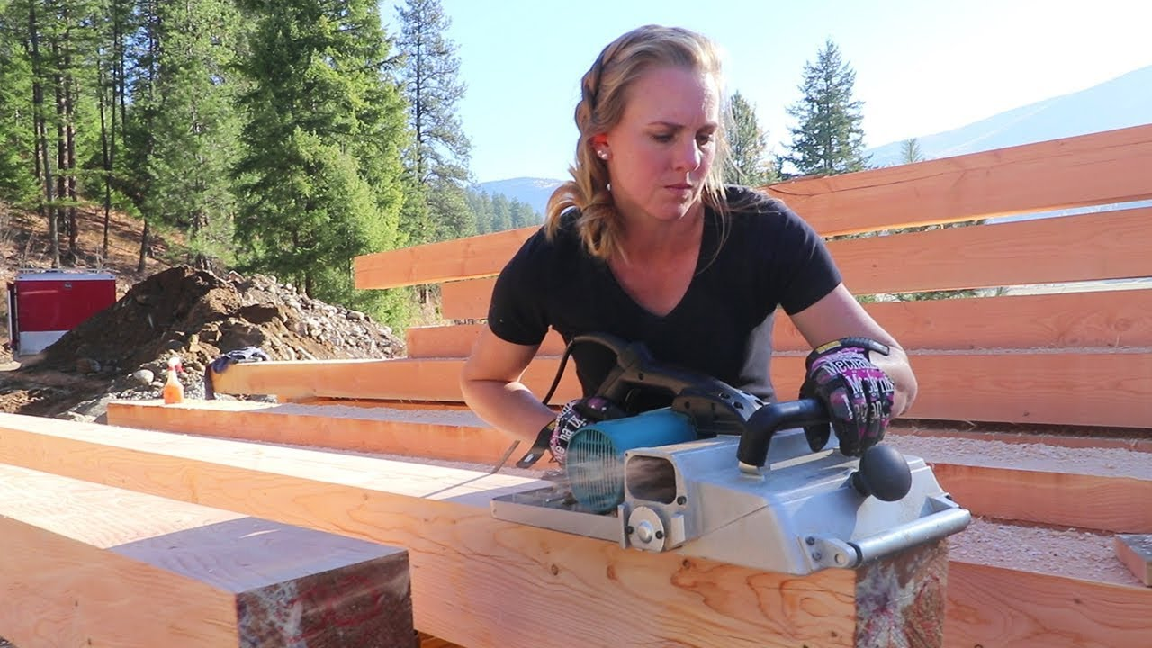 DOWN TO THE WIRE! (3 Days to Timber Frame Workshop) - YouTube