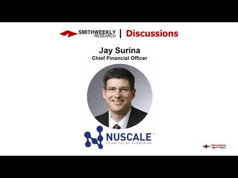 Discussion with Jay Surina     Nuscale Power