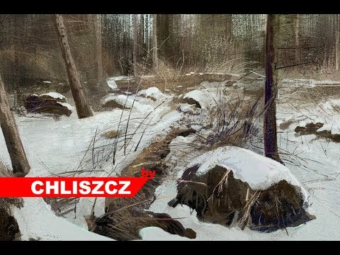 Photoshop CC digital painting – Winter