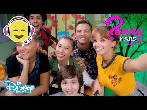 Penny på MARS  Musik: All for One 🎶- Disney Channel Sverige