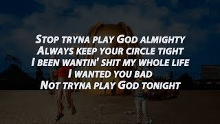 Travis Scott Stop Trying To Be God | Lyrics