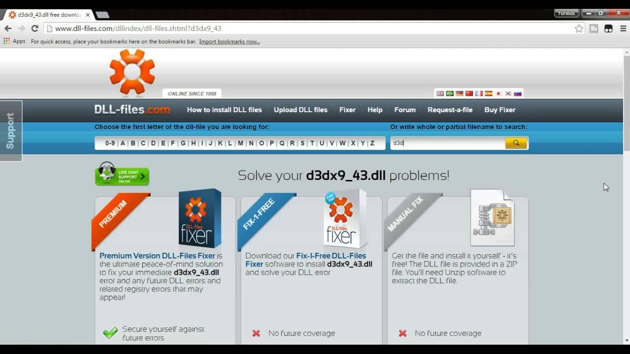 Программа d3dx 43 dll скачать бесплатно