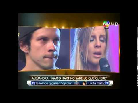 Combate - Alejandra Baigorria  terminó su relacion con Mario Hart 17-06-2013